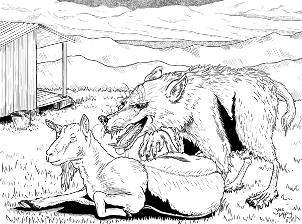 cryptid coloring pages - photo#5