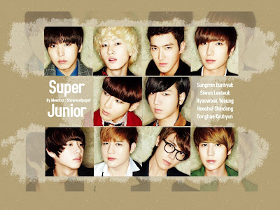 Super Junior 2012 Calendar