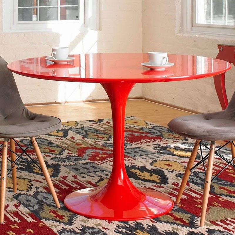 Clásicos diseño industrial Mesa Tulip de Saarinen