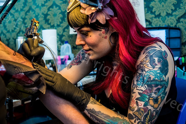 Trieste Tattoo Expo Woman