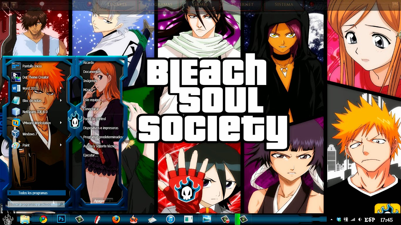 [ Theme Win 8 ] Bleach 1