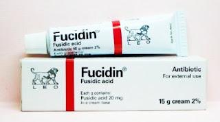 ยาแต้มสิวอักเสบ ฟิวซิดีน(Fucidin)