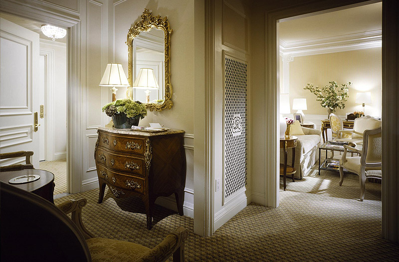 Jet luxury resorts st regis nyc residence suites for Luxury hotel offers