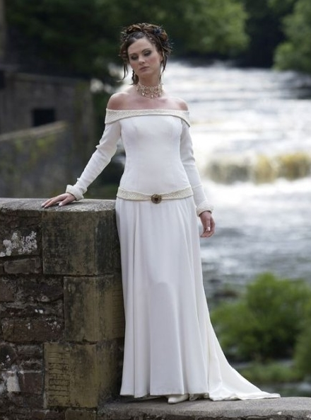 Devilinspired wedding dresses medieval style wedding dresses for Renaissance inspired wedding dress