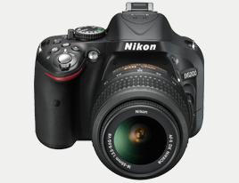 Kamera med EN-EL14, Nikon D5200
