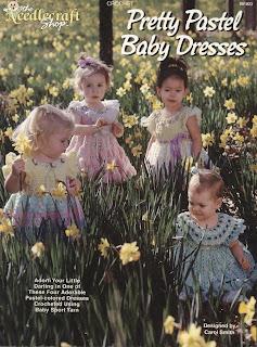 Crochet Pretty Pastel Baby Dresses