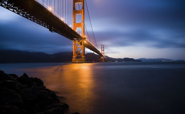The Golden Gate Bridge, USA by Thomas Hawk