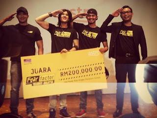 Fear Factor Selebriti Malaysia Akhir Hairul Dan Dazrin Juara.