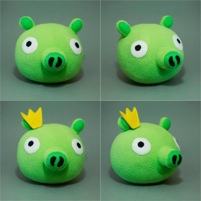 Angry Birds свинка