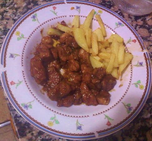 Carne Agridulce