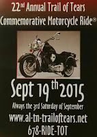 Trail of Tears Commemorative Motorcycle Ride®