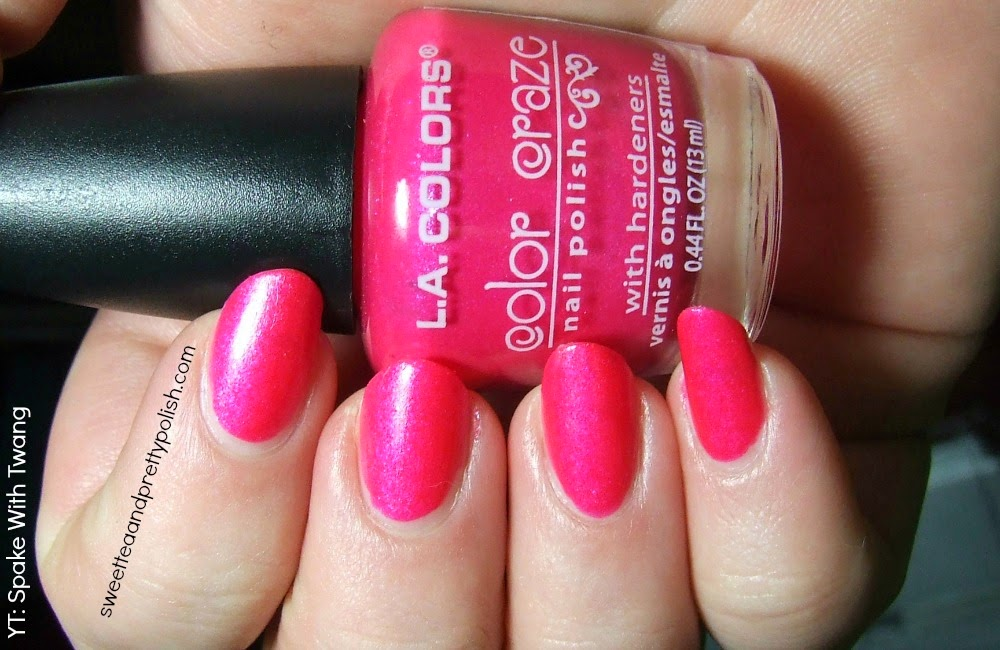Jenn Swt: Nails of the Day: LA Colors Color Craze in BAM! (with Review)