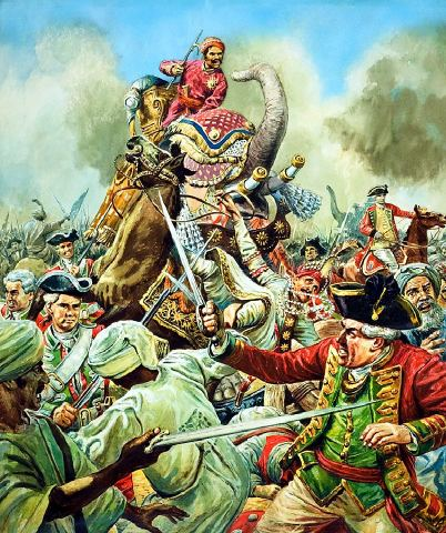 second battle of panipat Panipat has been described as the pivot of indian history for 300 years and its  story begins in the first great battle of 1526after the fall of the  the second  picture depicts a typical afghan mailed lancer in actionthey were a.