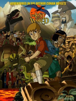 Mundo Perdido (The Lost World) - Desenho Animado - AVI Dublado - TV
