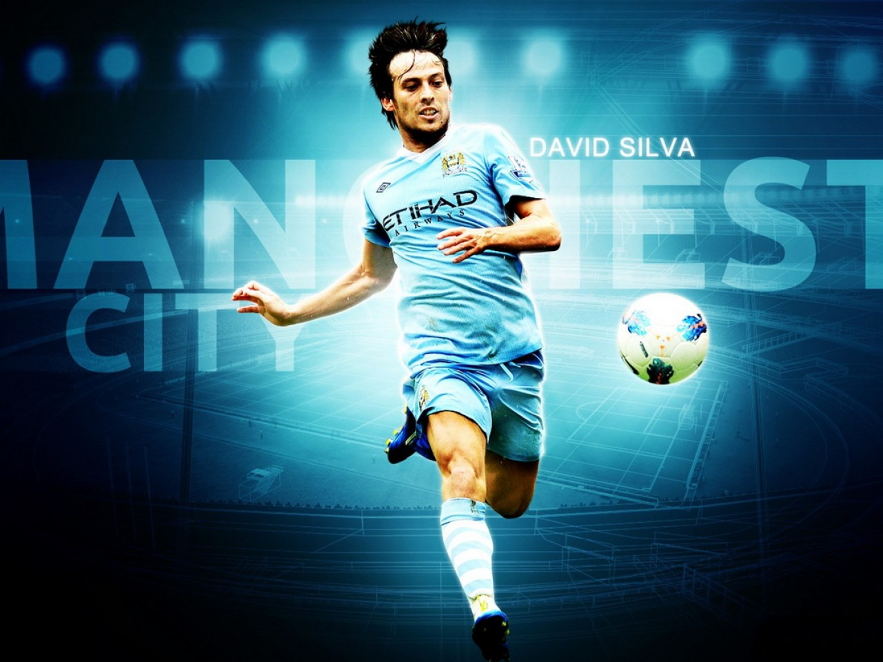 David Silva Wallpaper Manchester City