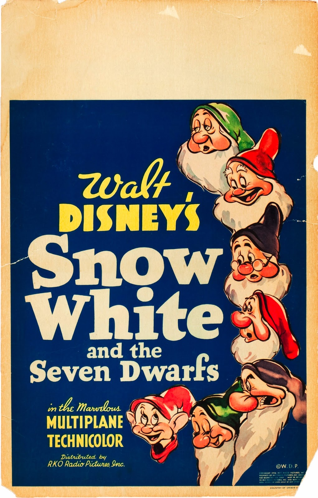 pop culture safari vintage disney movie poster snow white