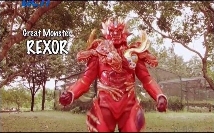 Bima X - Great Monster Rexor
