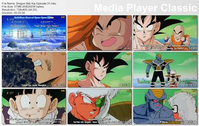 "Download Film / Anime Dragon Ball Kai Episode 31 ""Son Goku Akhirnya Tiba! Kalahkan Pasukan Khusus Ginyu"" Bahasa Indonesia"