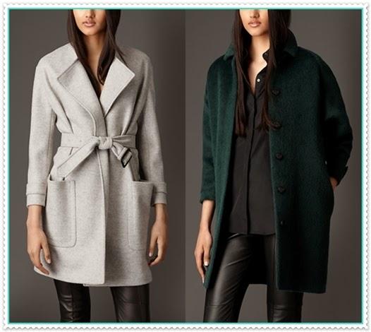 Mode germany burberry wintermantel f r damen 2014 - Burberry damen mantel ...