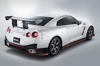 Nissan GT-R Nismo N-Attack Package (2016) Rear Side