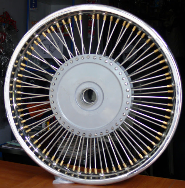 "Royal Enfield Custom Wheels | custom motorcycle wheels | custom spoke wheel | Custom Wire Wheel | custom motorcycle| 19 Inch Rims | Custom 19"" Wheel 