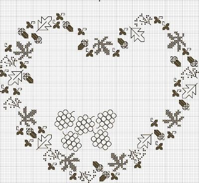 my Fall heart design.