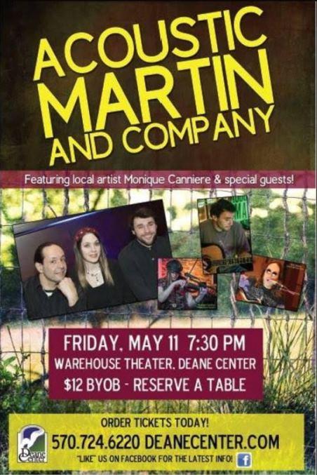 5-11 Acoustic Martin & Company Wellsboro