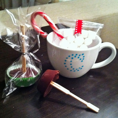 hot chocolate on a stick, number 1 on list of christmas gifts under $5