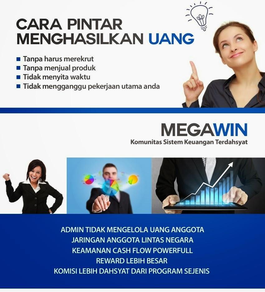 Megawin,cara,reward,mingguan