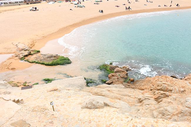 View from Tossa de Mar, Costa Brava