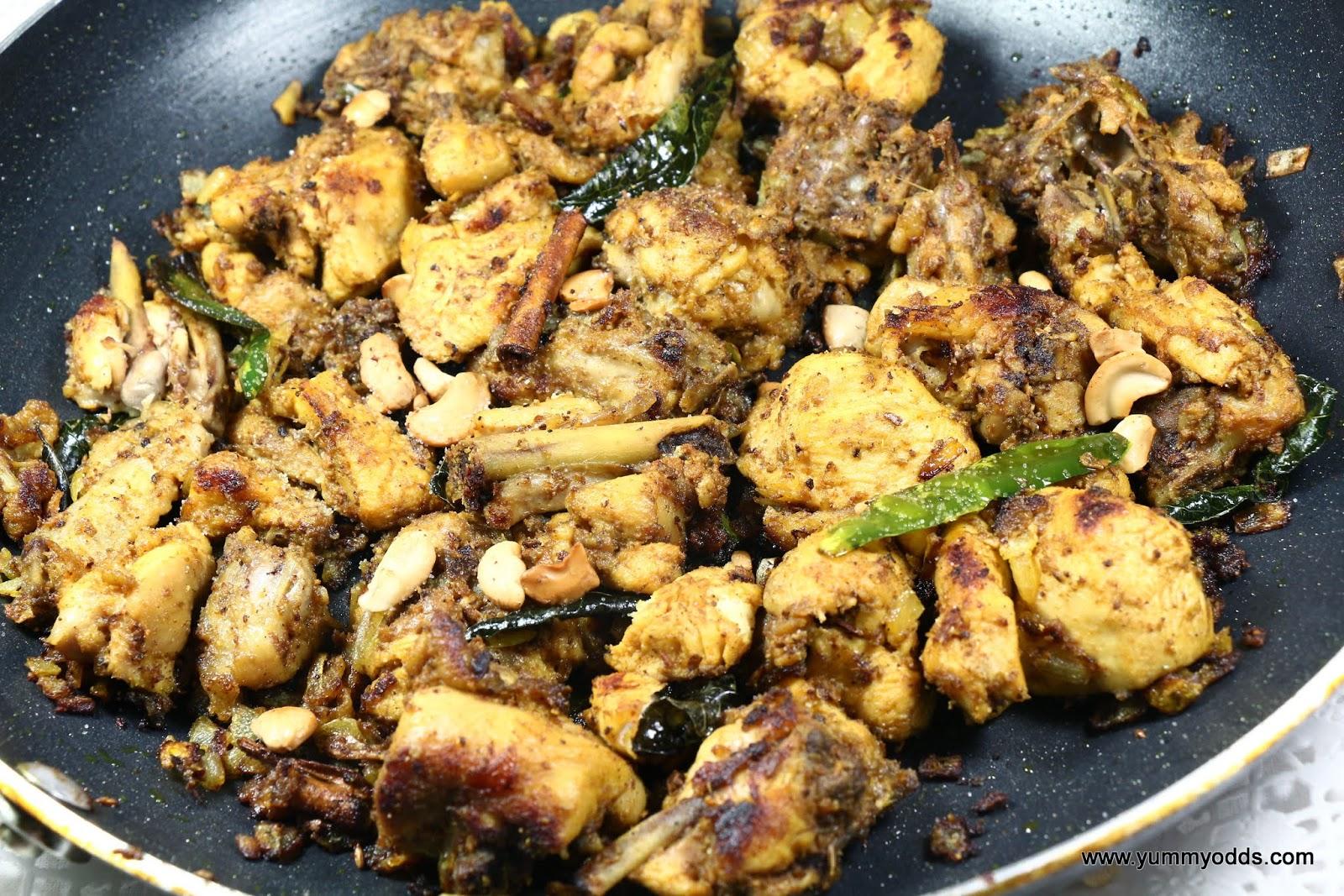 Yum! Yum! Yum!: Kodi Vepudu ~ Andhra Style Chicken Fry ...