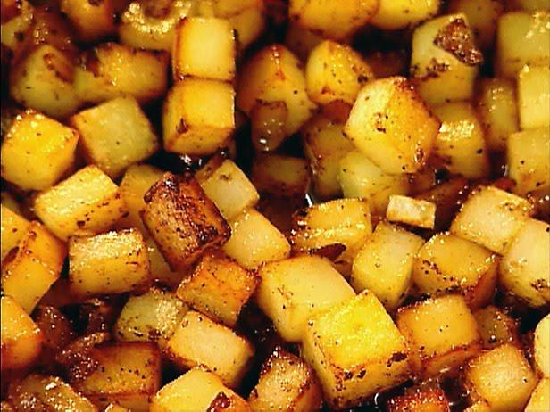 From Nana's Kitchen: Crispy Hash Brown Potatoes