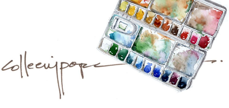 Colleen Pope | Watercolor Collections