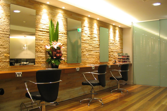 contemporary architecture hairdressing salon designs