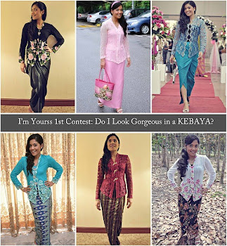 I'm Yourss 1st Contest: Do I Look Gorgeous In A Kebaya?