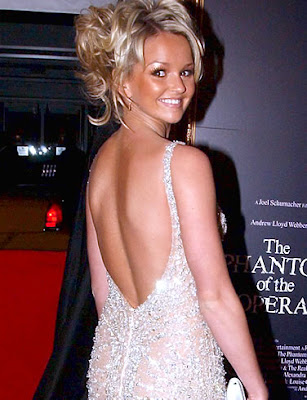 Jennifer Ellison Posing in Event