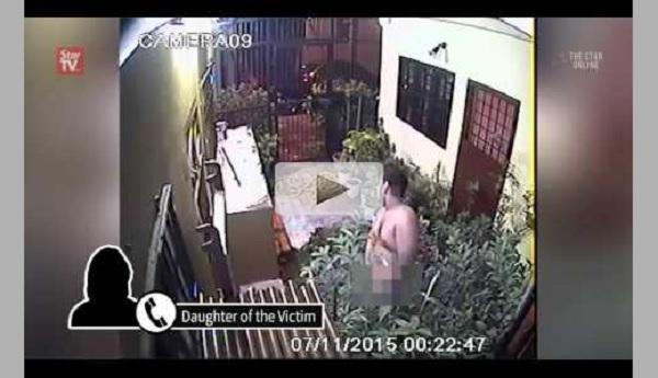 Pelajar perempuan tergamam nampak aksi lucah di belakang rumahnya