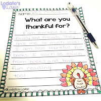 turkey craft writing