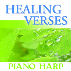HEALING VERSES ON HARP PIANO SOAKING MUSIC