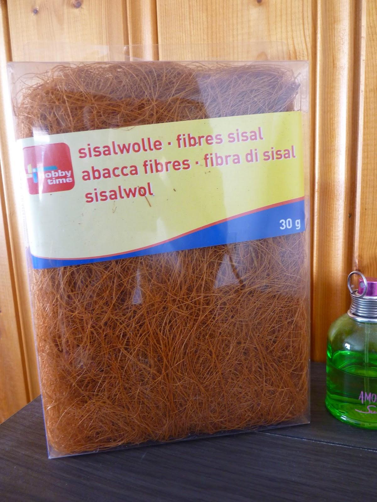 fibres sisal marron, fibre sisal, marron, pâques, commande, scrapbooking, loisir créatif,