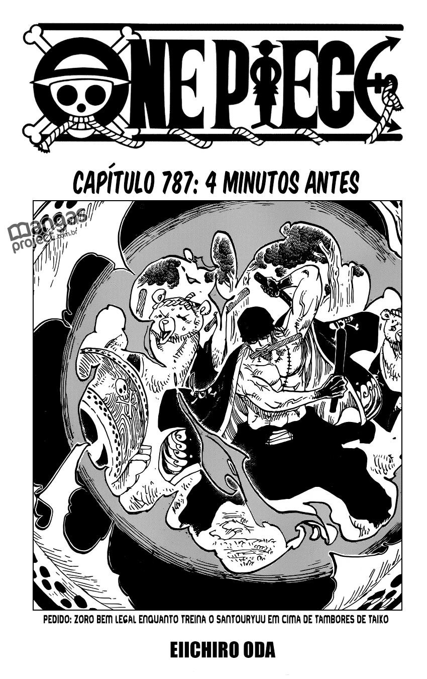 One Piece Mangá 787, Mangá One Piece 787, One Piece Capítulo 787, One piece 787, Todos os Mangás, ler, português, traduzido, legendados