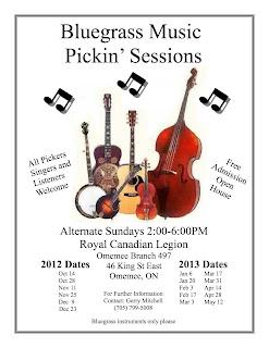 image Poster Omemee Bluegrass Jam