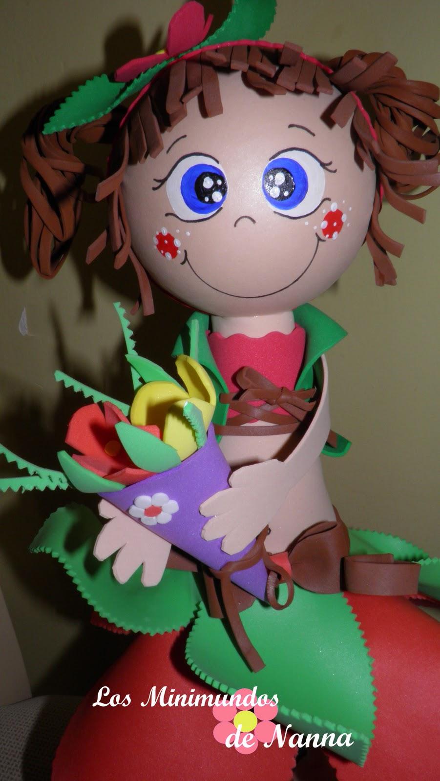 Florita lapicero ,con su portalapices !!