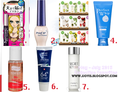 May - July Collective Favourites 2015