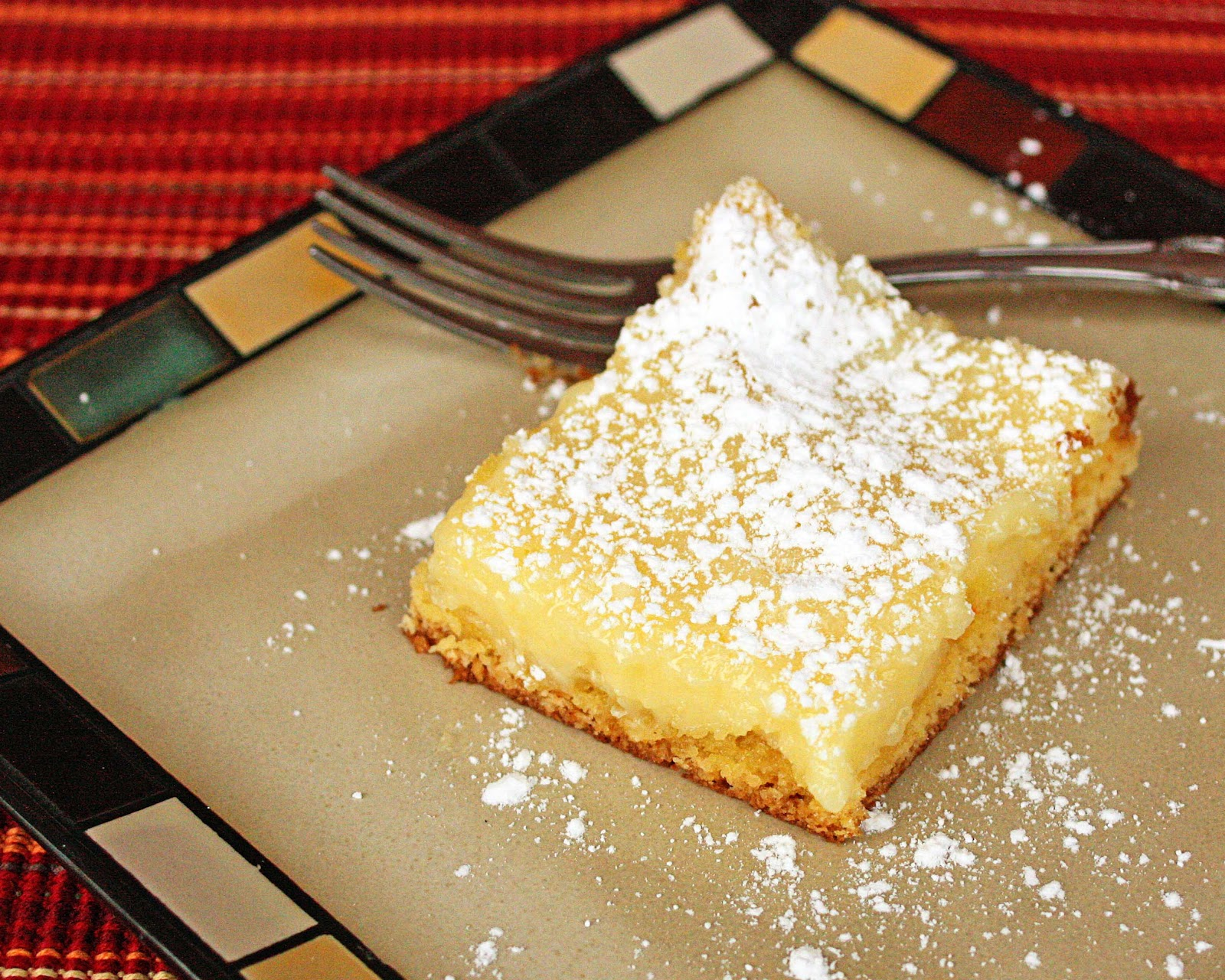 Just a Spoonful of: Gooey Butter Cake