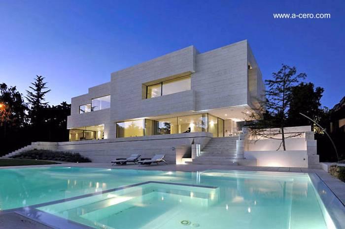 Arquitectura de casas casas modernas y contempor neas en - Casas modernas madrid ...