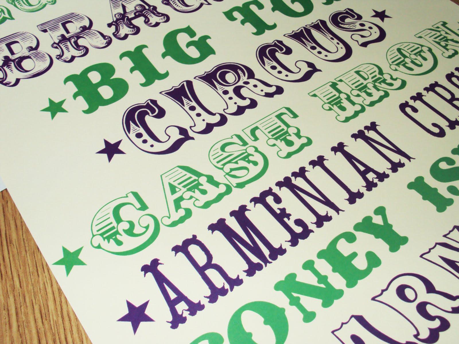 garuff circus fonts again