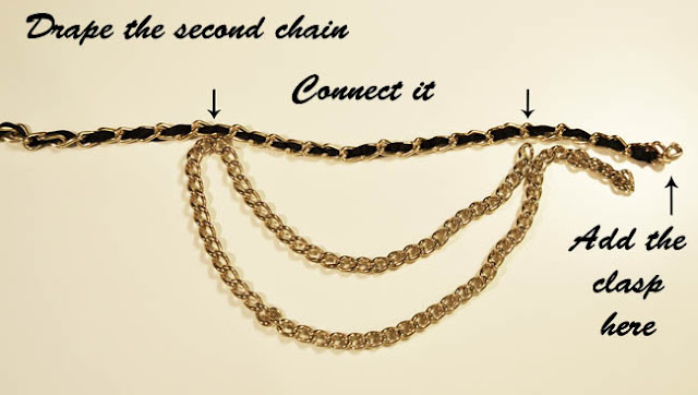 belt diy, diy,anna dello russo diy, fashion week diy,chanel diy,chanel belt diy chain belt diy,fashion diy
