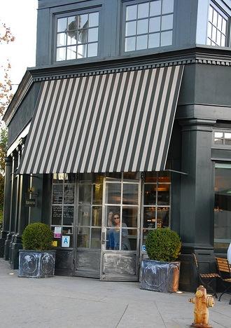 Tavern+Outside Design Inspiration: Black and White Stripes