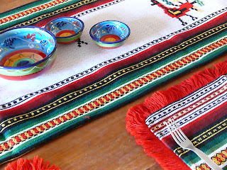 spanish table cloth set